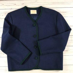 Vintage Pendleton Cardigan Women's size 10 Wool